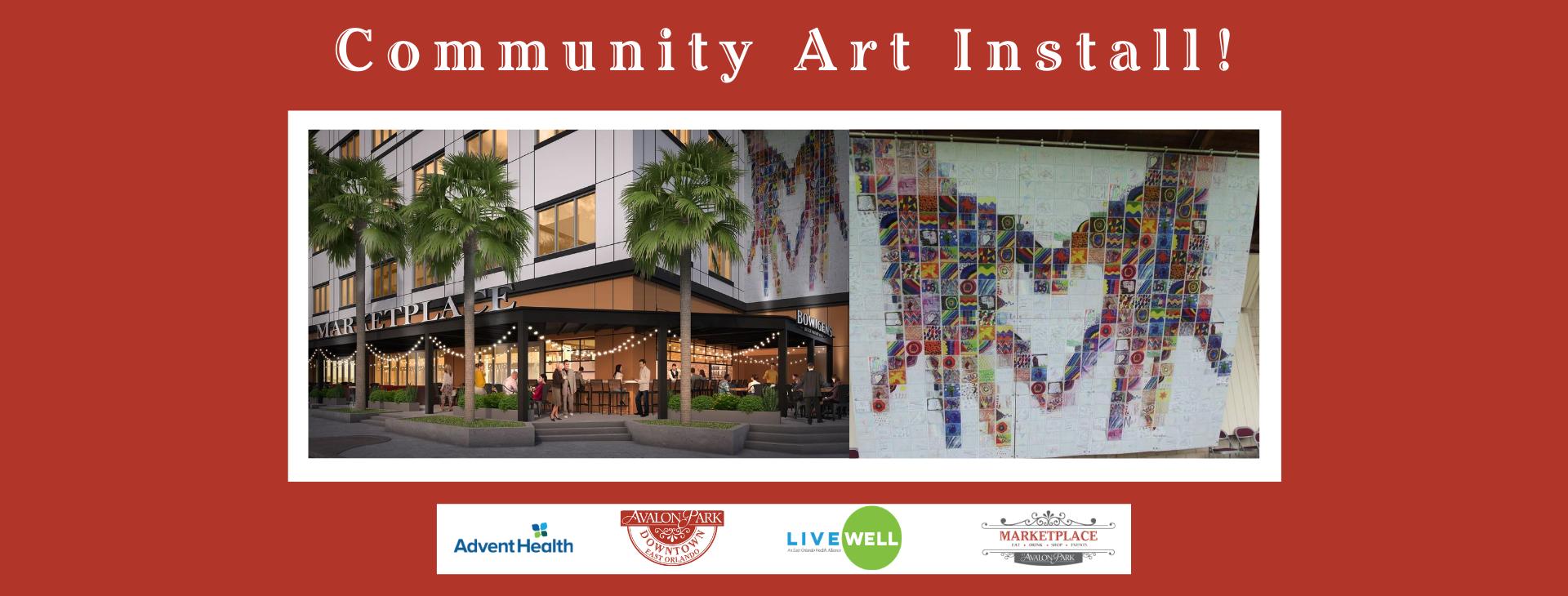 FB Cover Community Art Install