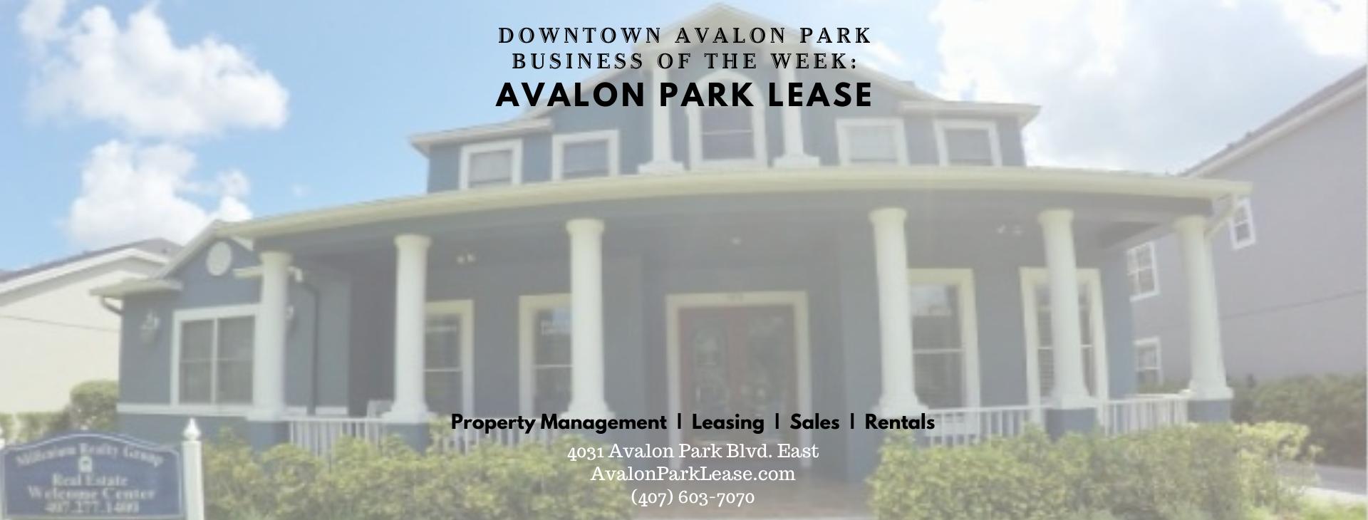 BOW Avalon Park Lease FB Header